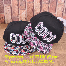 Design Your Own Flexfit Floral Cap/hat Allover Patch Snapback Cap For Spring Summer