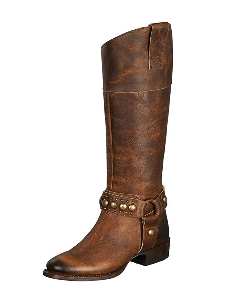 Get Quotations · Lane Western Boots Womens Westminster Riding Leather Tan  LB0295A 9893e89242f8