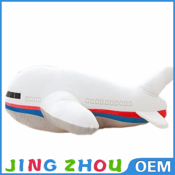 Big size plush toys airplane stuffed toy