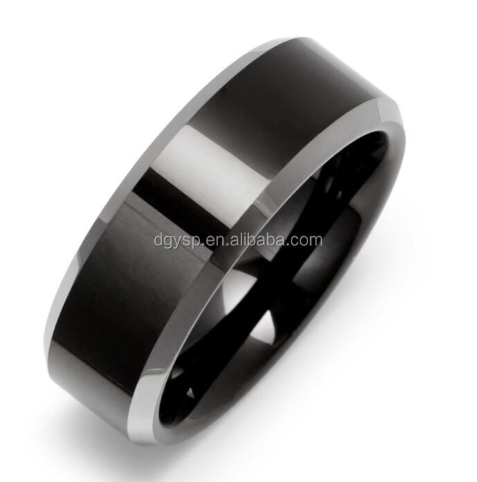 Inspire stainless steel jewelry factory custom high quality Brushed Finish Engravable Tungsten ring mens wedding Bands
