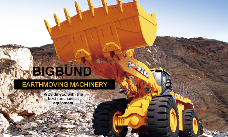 ZL50GN 5 ton wheel drive telescopic loader with rock bucket