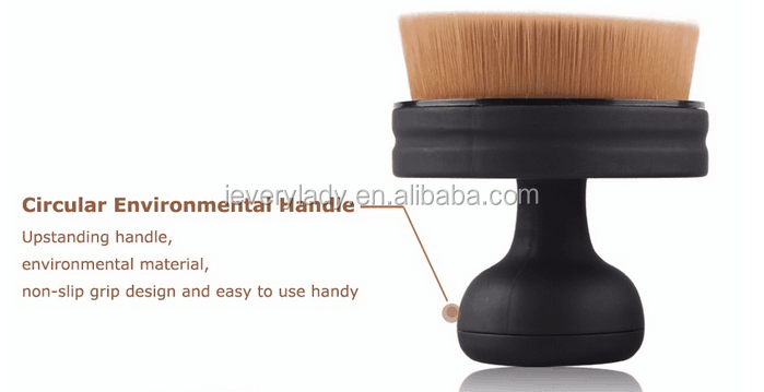 makeup brush for liquid foundation 3D seal shape foundation makeup brush