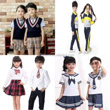 2016 British Style Primary School Uniform Fashion Junior High School Uniform High Quality School Uniform