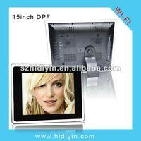 15 inch bus digital photo frame