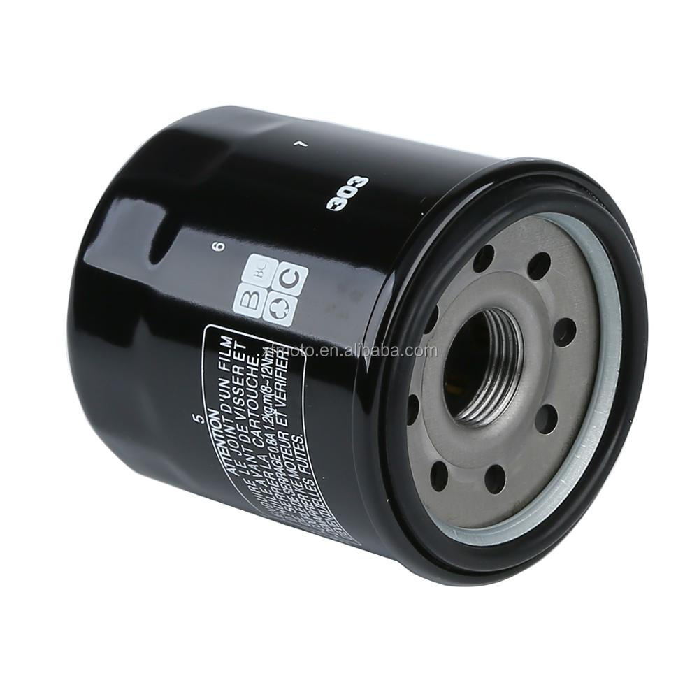 Motorcycle Hf303 Oil Filter For Honda Cbr Gl Kawasaki Z750 Yamaha