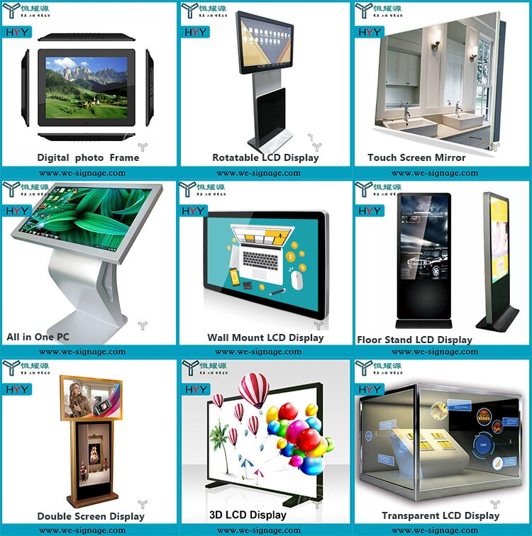 Personalizado Lcd Digital Signage publicidad Media Player Box