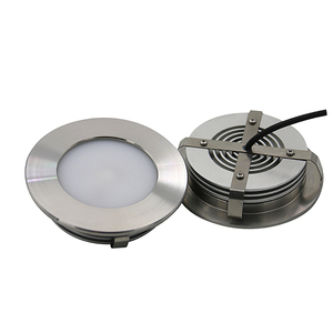 dimmable multicolor ip67 led down lights 12v white rgb rgbw recessed SS316L waterproof boat yacht led downlight ceiling light