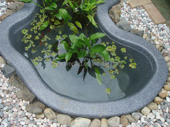 Fish pond mold rotational aluminum mold buy polyethylene for Garden pond moulds