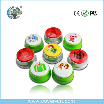 wholesale custom funny talking push buttons music buttons on sale