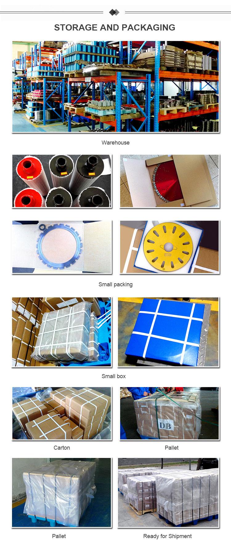 금속 bond diamond 연 삭 세그먼트 판 콘크리트 coating 및 페인트 remove plug