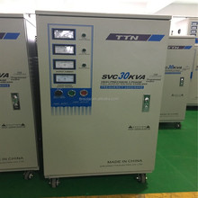 Compensation type full Certificate sbw 250 kva three phase avr industrial voltage regulator stabilizer