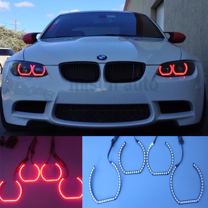 Dc12v Rgb Color Changing Oss M3 Dtm Style Angel Eye Corona Rings ...