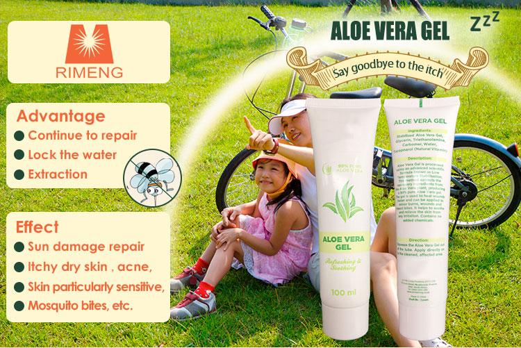 Kostenlose Probe Bieten Aloe Vera Feuchtigkeit Lotion Aloe Vera gel für Haut Gesicht gel