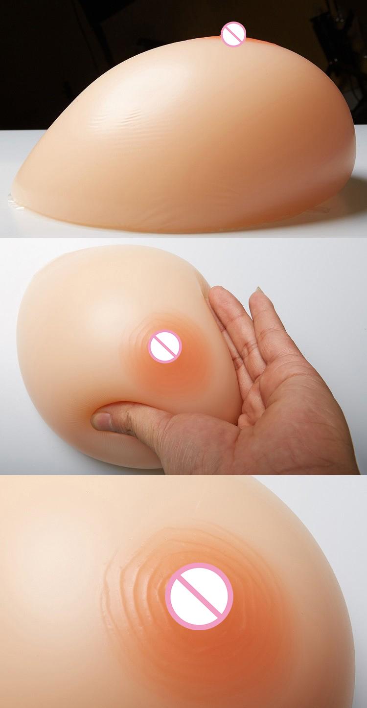 สีดำปลอมซิลิโคนโปร่งใส breast, สามารถปรับแต่งสีหน้าอก