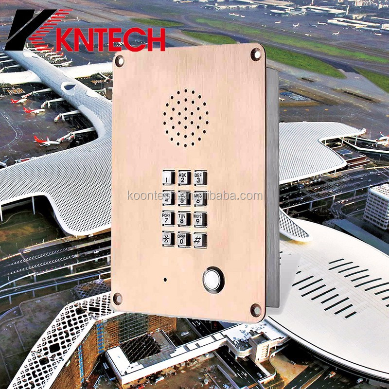 KNTECH door phone voip intercom for parking intercom emergency call