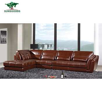 Factory Supply Corner Wooden Sofa Set Designs Wooden Corner Sofa