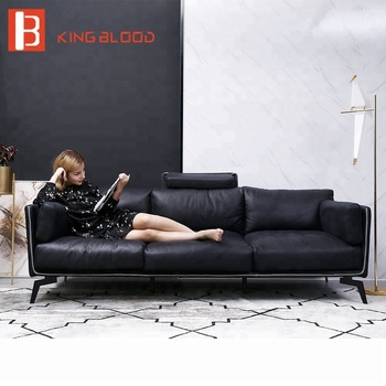 living room modern 3 seater italian leather sofas, View Italian leather  sofa, Kingblood Product Details from Foshan Kingblood Furniture Co., Ltd.  on ...
