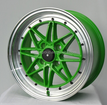 Green Car Rims,Alloy Wheel,Car Wheel Rims Made In China