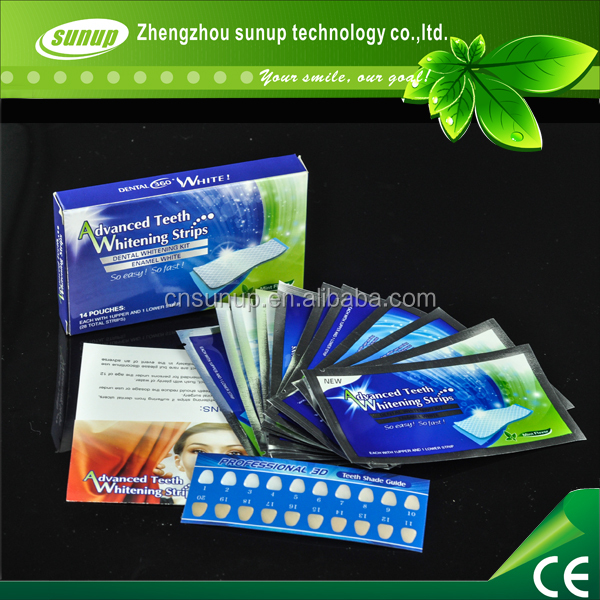 private labeling teeth whitening strips and gel