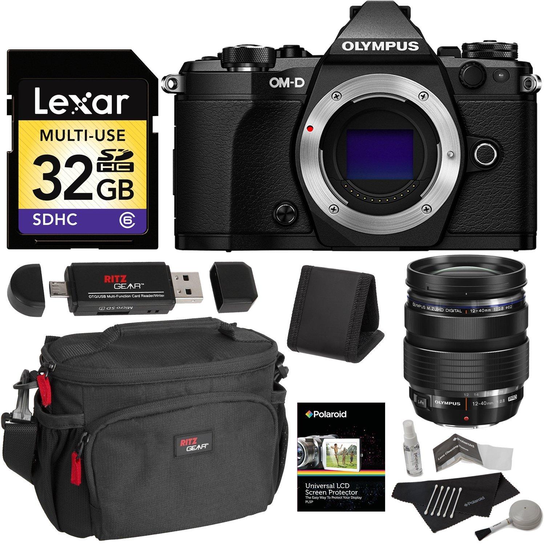 Cheap Olympus Camera Memory Card Find Om D E M5 Mark Ii Kit Ed 12 40mm F 28 Pro Get Quotations Black V207040bu000
