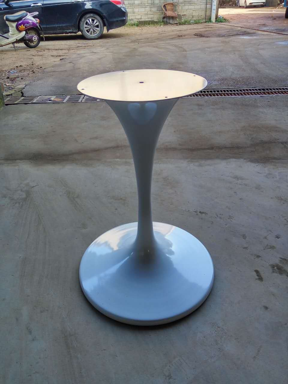 New Cast Iron Tulip Table Base Sculpture Granite Base For
