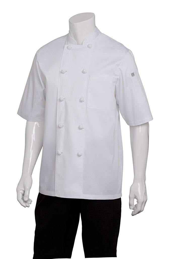 Chef Works Men's Tivoli Chef Coat