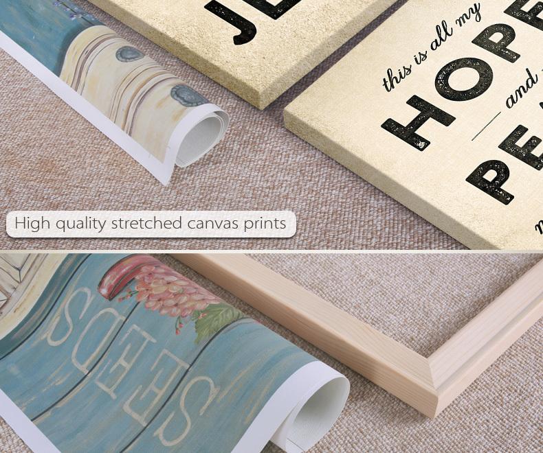 Alta Calidad Carta Enmarcado Arte Impresión De Lona Impresa - Buy ...