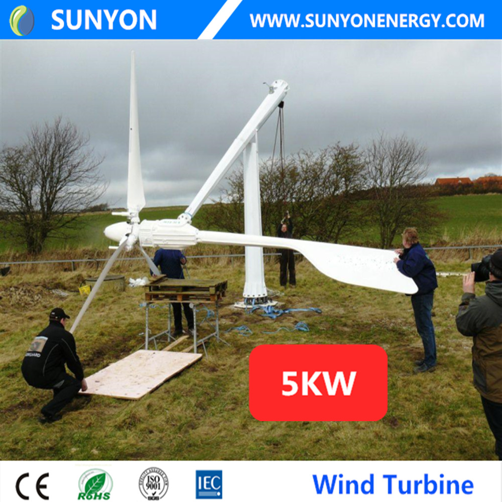 2kw 3kw 5kw 10kw 20kw small home residential wind electric power generator wind generator