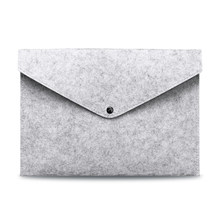 Шерстяная фетровая папка А4, Большая вместительная сумка для документов, Простой деловой портфель, бумажный органайзер для хранения Ipad, Сум...(Китай)