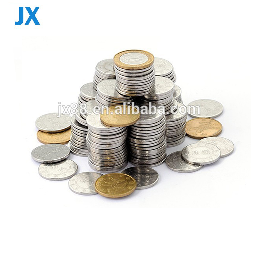 Arcade coin manufacturer direct custom different material different size arcade token