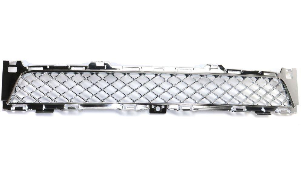 Evan-Fischer EVA177051816130 Bumper Grille for 2014-2015 Jaguar XJR Plastic Chrome Center Replaces Partslink# JA1036101