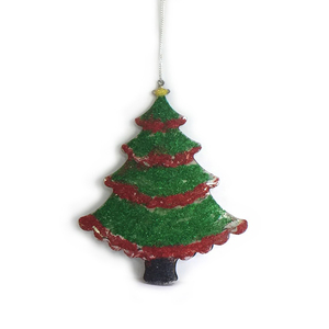 Best Selling Christmas Items Outdoor Metal Hanging Mini Christmas Tree Decoration