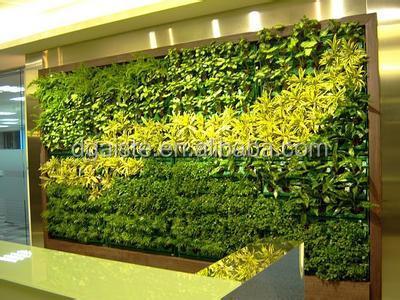 fake grass wall good quanlity home interior decor artificial plant ...