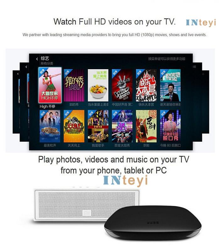 English Xiaomi Mi Box Tv 3 Pre-install Kodi Google Play Store ...