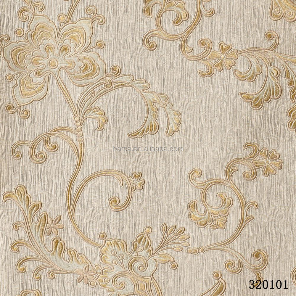 home decor vinyl embossed wallpaper 3d paper <strong>wall</strong> hot sale