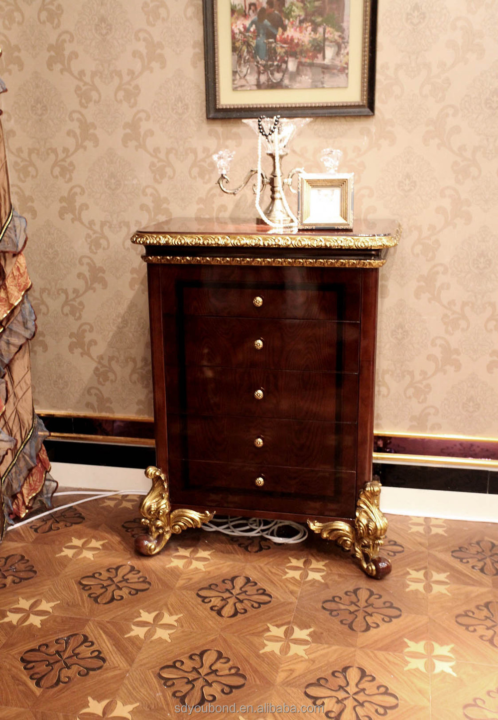 Luxury Bedroom Sets Furniture 0063 Luxury Home Bedroom Sets Furniture Classic Wooden Bed View