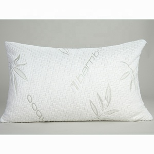 High Quality Bamboo Pillow In Stock Big Discount Shredded Memory Foam Pillow Queen Size King Size