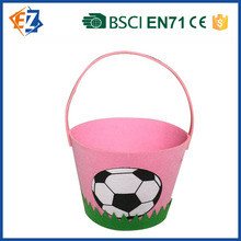 Cute and Fancy Cloth Easter Basket for Decoration and Gift