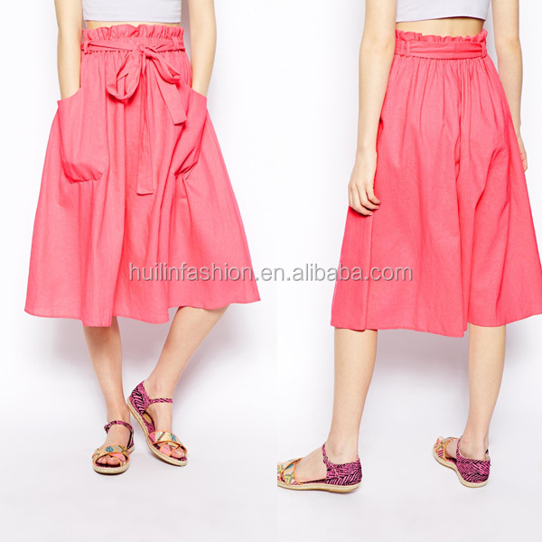 Latest Skirt Design Pictures Beautiful Design Long Women Linen ...