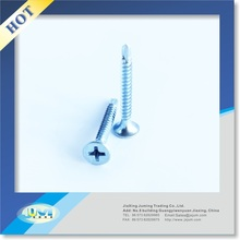 Good price flat head drywall drilling screw with Phil Drive and zinc plated
