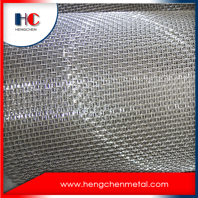 Hot-Dipped Galvanized Crimped Woven Wire Screen
