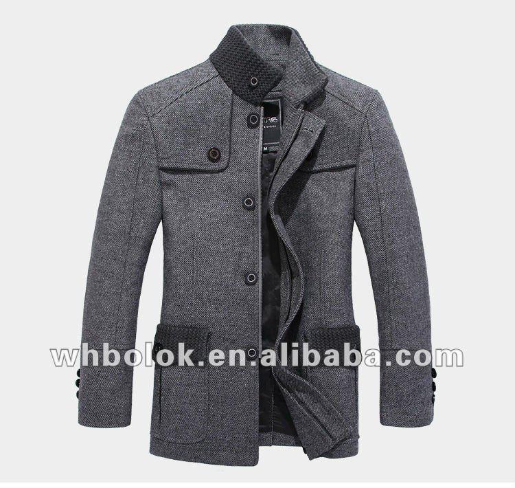 Elegant Men's Wool Winter Coat New Style Coat Men - Buy Winter ...