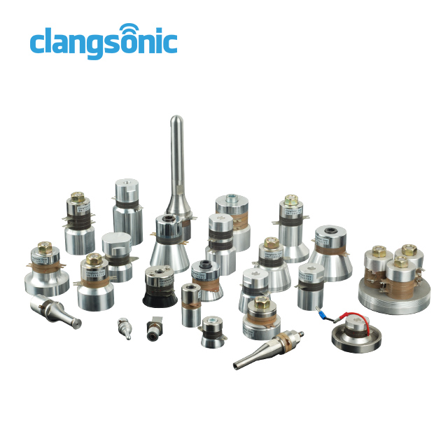 Customizable 80w ultrasound piezo oscillator 80khz ultrasonic cleaning transducer made by Clangsonic in China factory