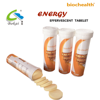 OEM ODM Energy Drink Guarana Caffeine Vitamin Effervescent Tablet Sport Drink Electrolyte Powder/Tablet