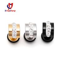 Earring stud fake diamond ear jewelry stud earrings body piercing jewelry