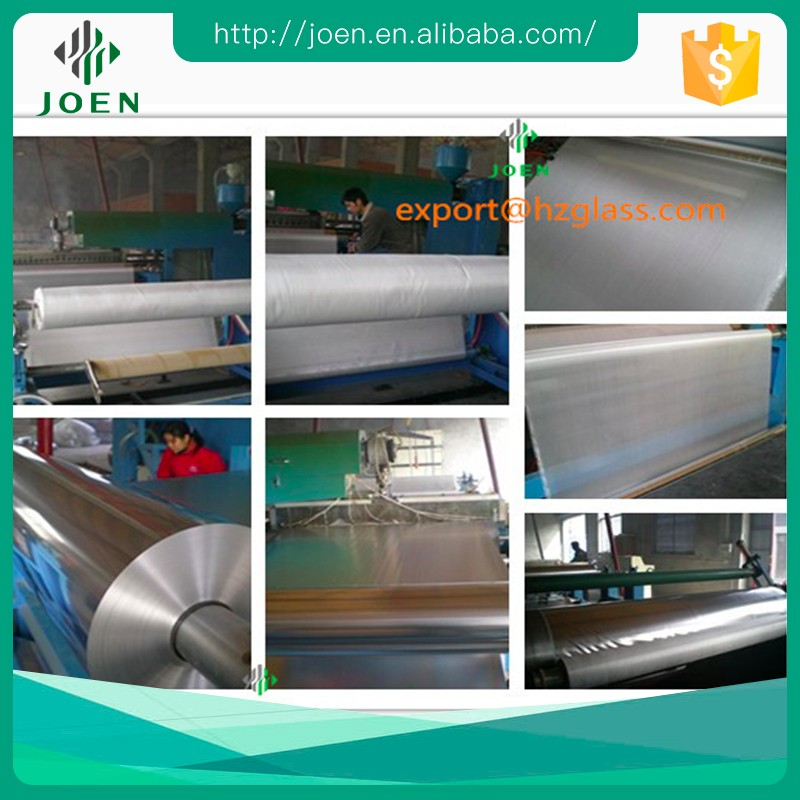 1.5m wide aluminum foil laminated cotton or aramid fireproof fabric