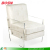 Luxury leather acrylic arm chair lucite Perspex dining sofa seat stool for living home