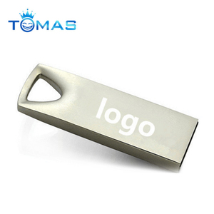 Rectangle shaped flash memory usb flash drive metal usb for promotion