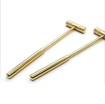 Solid brass copper head sledge hammer for watch repair