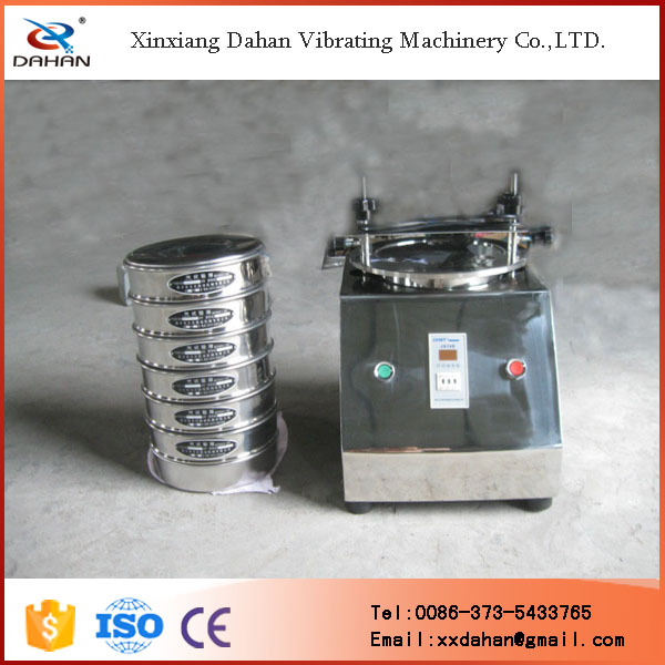 international standard mechanical vibro sieve shaker used in lab